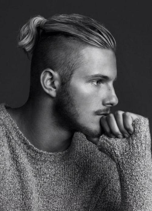 Undercut, ponytail. Alexander Ludwig Pelo Mohawk, Long Undercut Men, Mens  Undercut Hairstyle