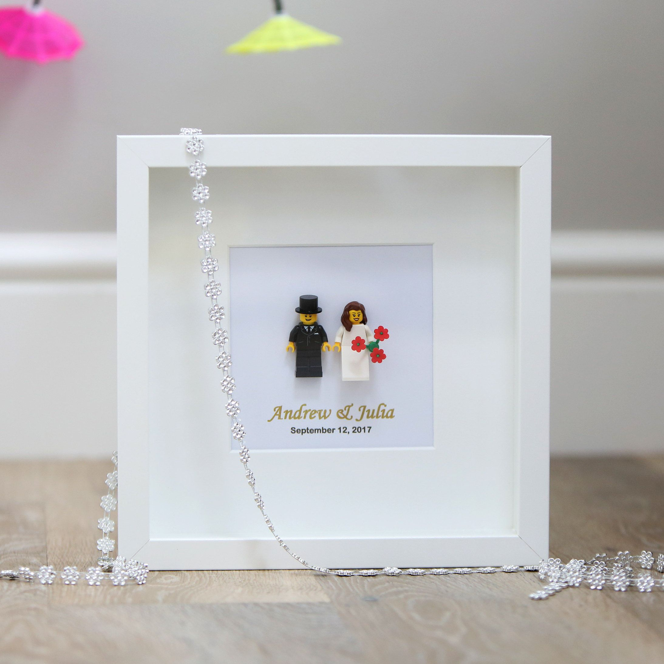 Lego® family frame. Capture all of mums beloved family members ...