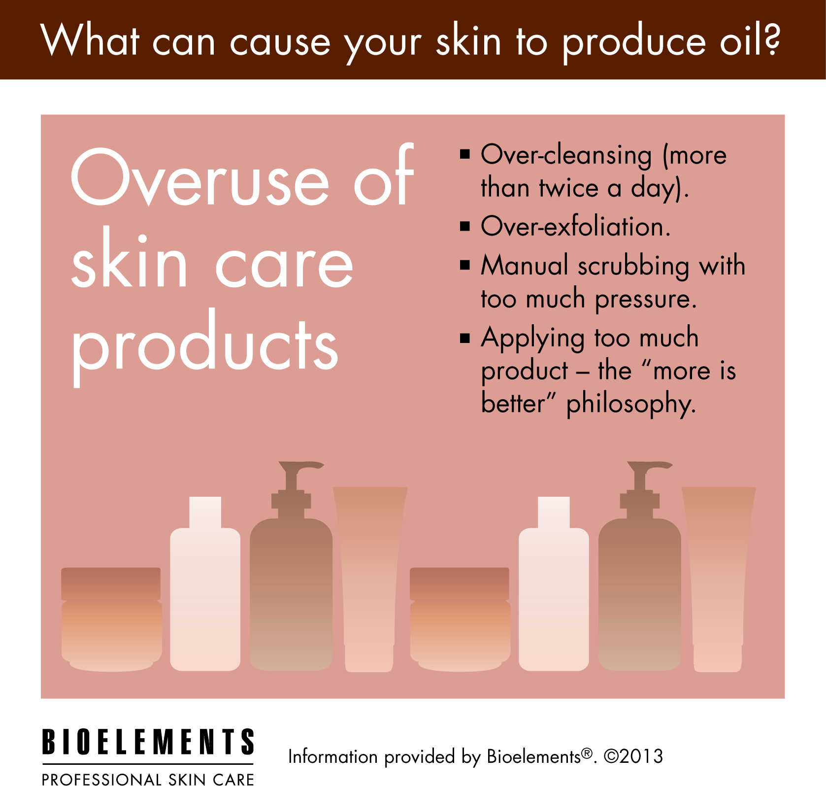 You Can Have Too Much Of A Good Thing Over Using Your Skincare Favorites Can Cause Your Skin To Prod Oily Skin Care Professional Skin Care Products Skin Care