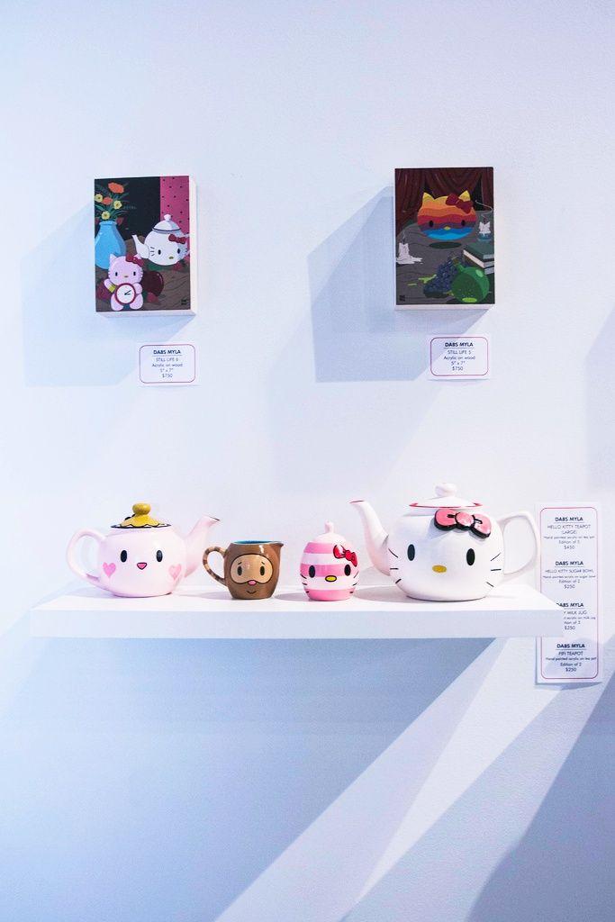 kawaii-i:  HK Art (by Leslie Kalohi / nevercoolinschool.com)