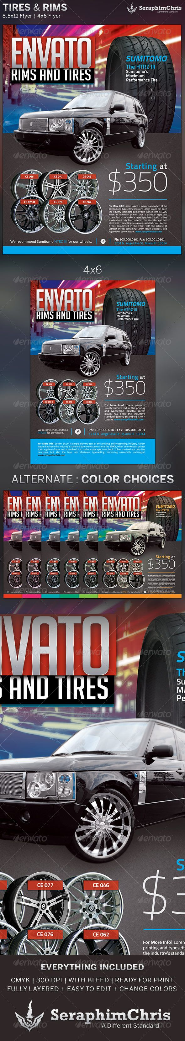 tires and rims s ad flyer template limo flyer template tires and rims s ad flyer template 2 6 00