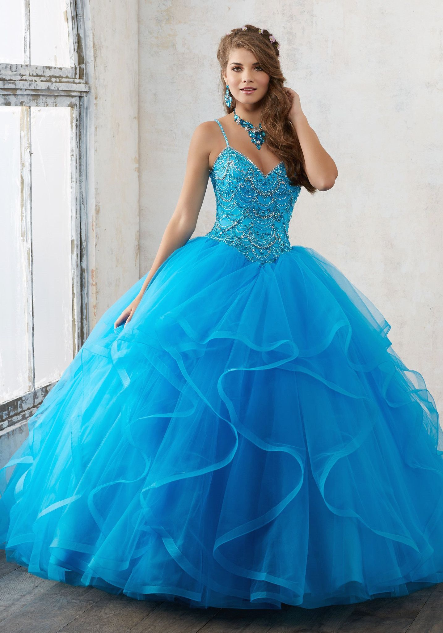 Mori Lee Valencia Quinceanera Dress 60017 | Mori lee, Valencia and Prom