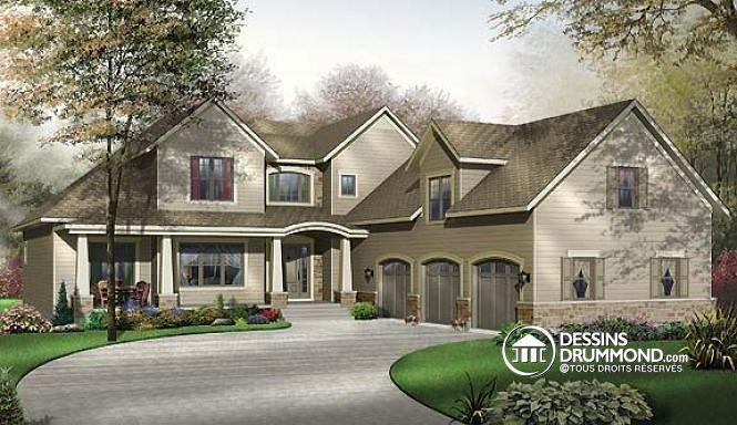 Plan Bleu Foyer Logement : À la recherche d un plan de maison offrant grand espace