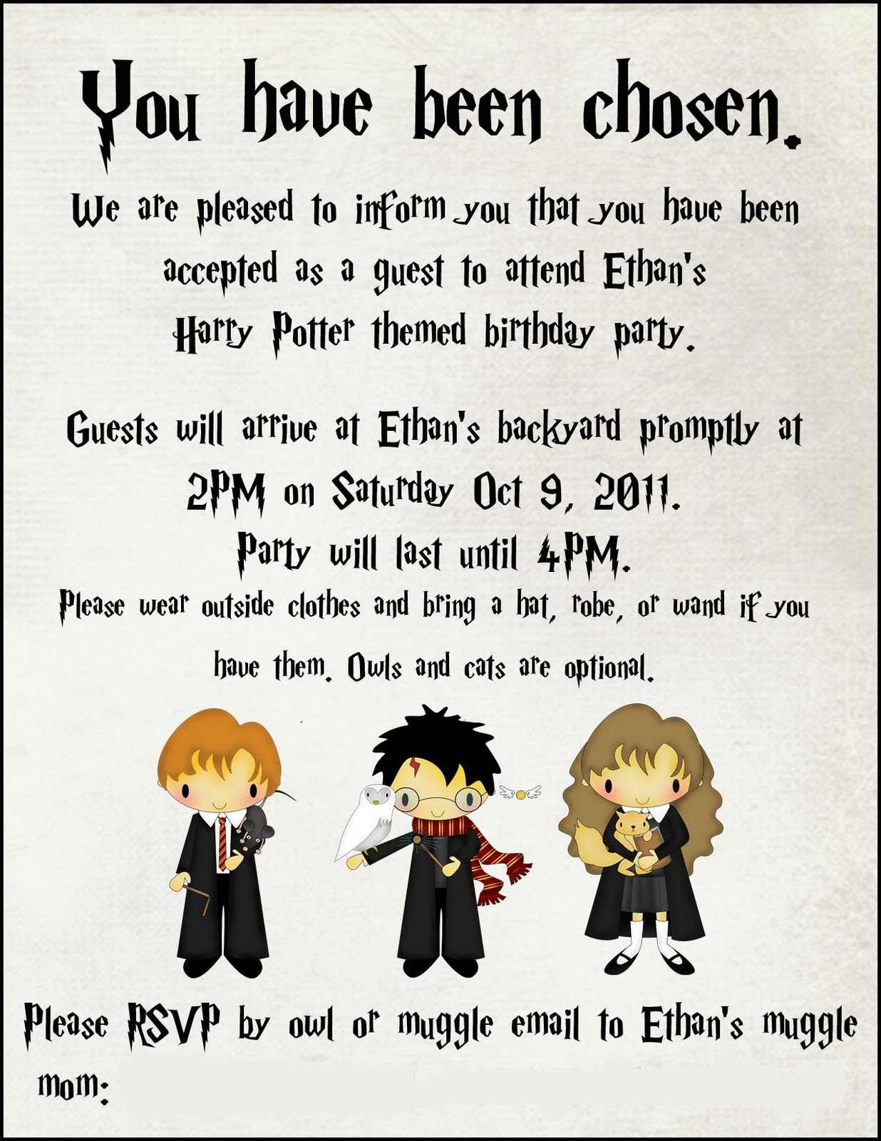 Harry Potter Birthday Party Loved all of her ideas Especially