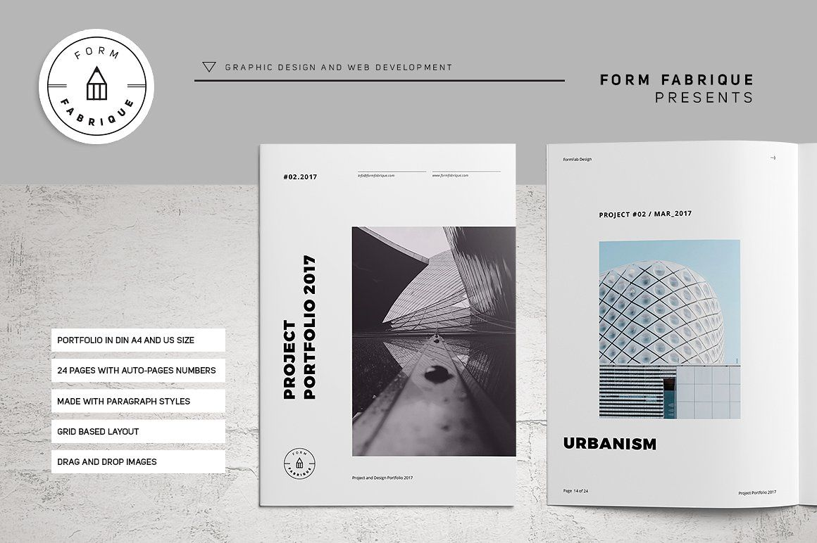 Studio Portfolio  Brochures    Design  Layout