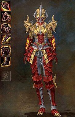 15++ Flame armor info