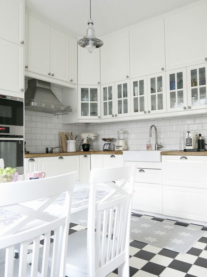 kitchen pinterest ikea k che k che landhausstil und neue k che. Black Bedroom Furniture Sets. Home Design Ideas