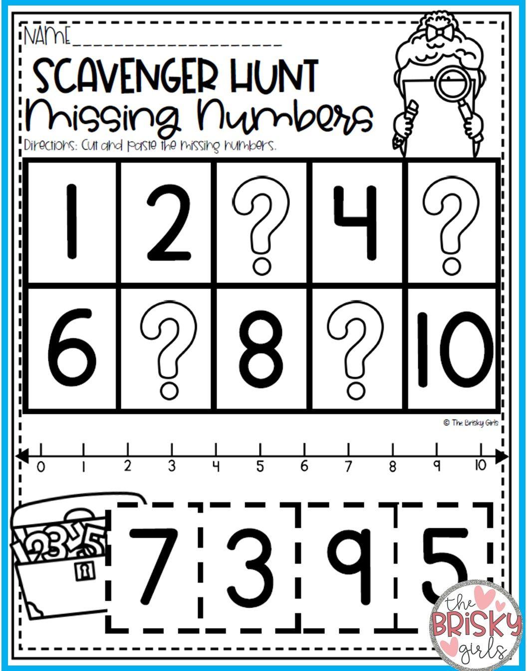 Kindergarten Summer Packet Get Ready For Kindergarten