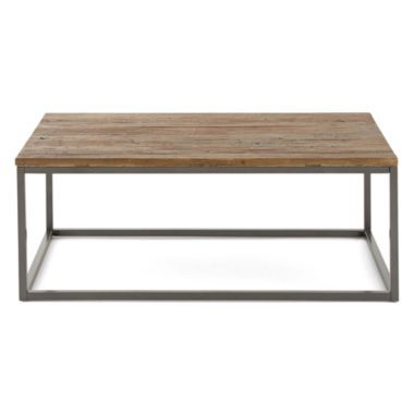 Elm 48 Rectangular Coffee Table Found At JCPenney