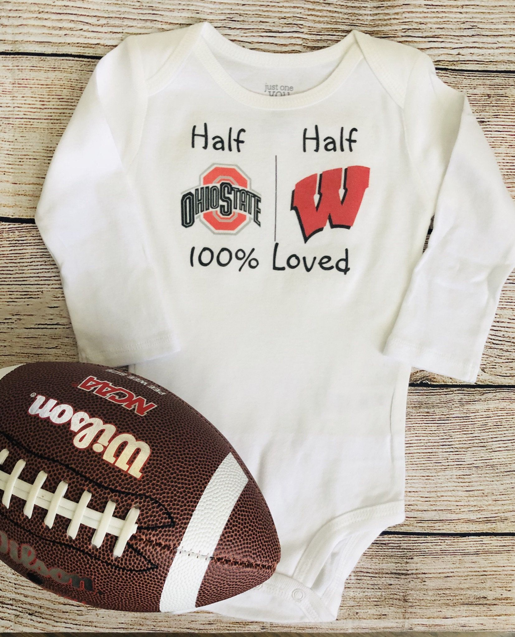 Sports rivals baby bodysuit or shirt, team rivals
