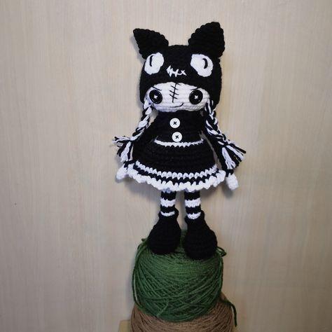 Cheshire Cat - Sayjai Amigurumi Crochet Patterns ~ K and J Dolls ... | 474x474