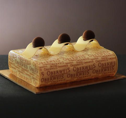 Écrin 3 chocolats - Pâtisserie Oberweis (Luxembourg)