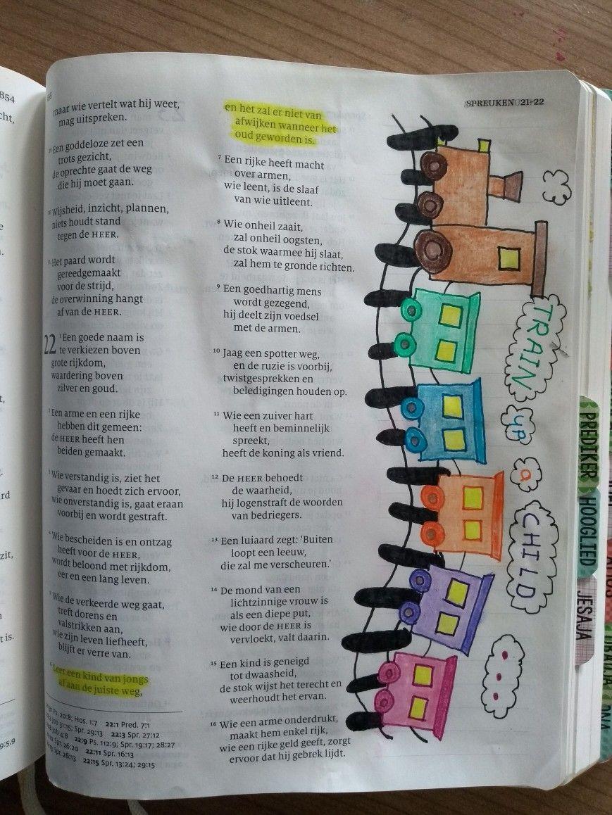 spreuken 22 Spreuken 22:6 Proverbs 22:6 bible journaling | bible journaling  spreuken 22