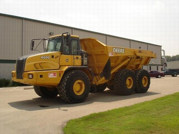 JOB Rentals and Sales LLC - John Deere 400D | Construction Equipment | Used construction ...