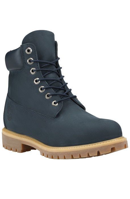 Timberland Boot The Timberland Icon 6 Premium Boot in Navy Waterbuck Blue.  Hot ShoesShoes ...