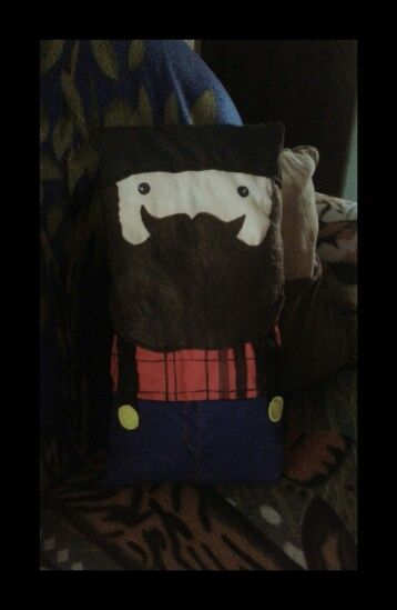 Lumber pillow Made by me
