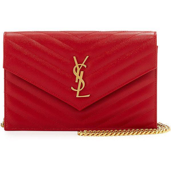 c07b340bab20 Saint Laurent Monogram Medium Matelasse Shoulder Bag ( 1