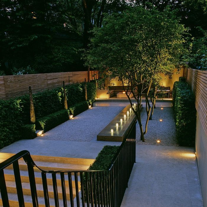 Garden Outdoor Wall Lighting | Festive Garden Lighting | Pinterest | Gardens,  Lighting Design And Garden Lighting Ideas