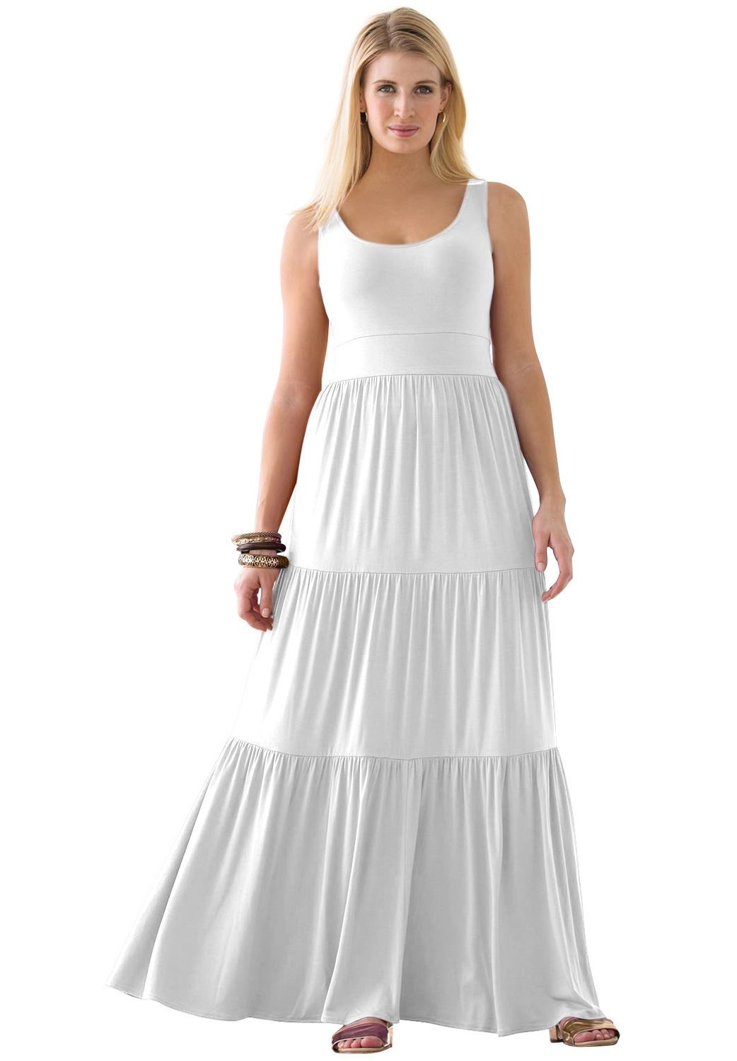 Tiered maxi dress my wardrobe pinterest maxis plus size maxi