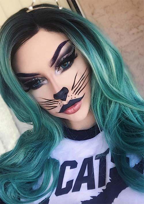 Photo of Halloween Makeup Ideas: Cat Makeup for Halloween