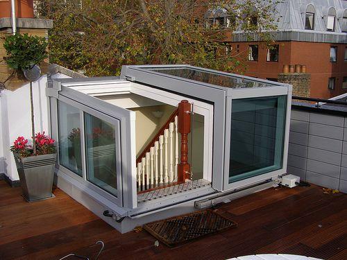 Semi-Retracting Roof Access Hatch & Semi-Retracting Roof Access Hatch | roof | Pinterest | Roof access ... pezcame.com