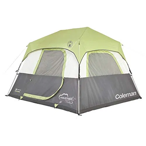 Coleman Instant Cabin 6 Tent With Fly Best Offer Outdoorfull Com In 2020 Family Tent Camping Coleman Tent Instant Tent
