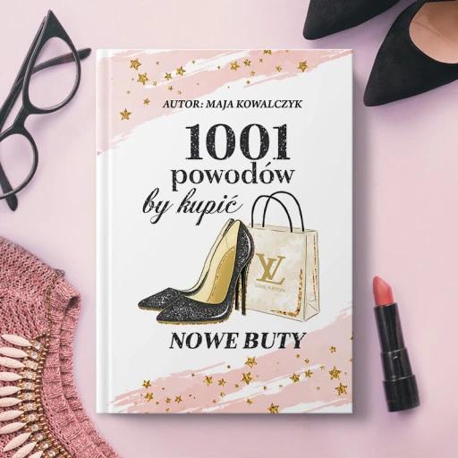 Notatnik Prezent Dla Kobiety Nowe Buty Book Cover Notebook