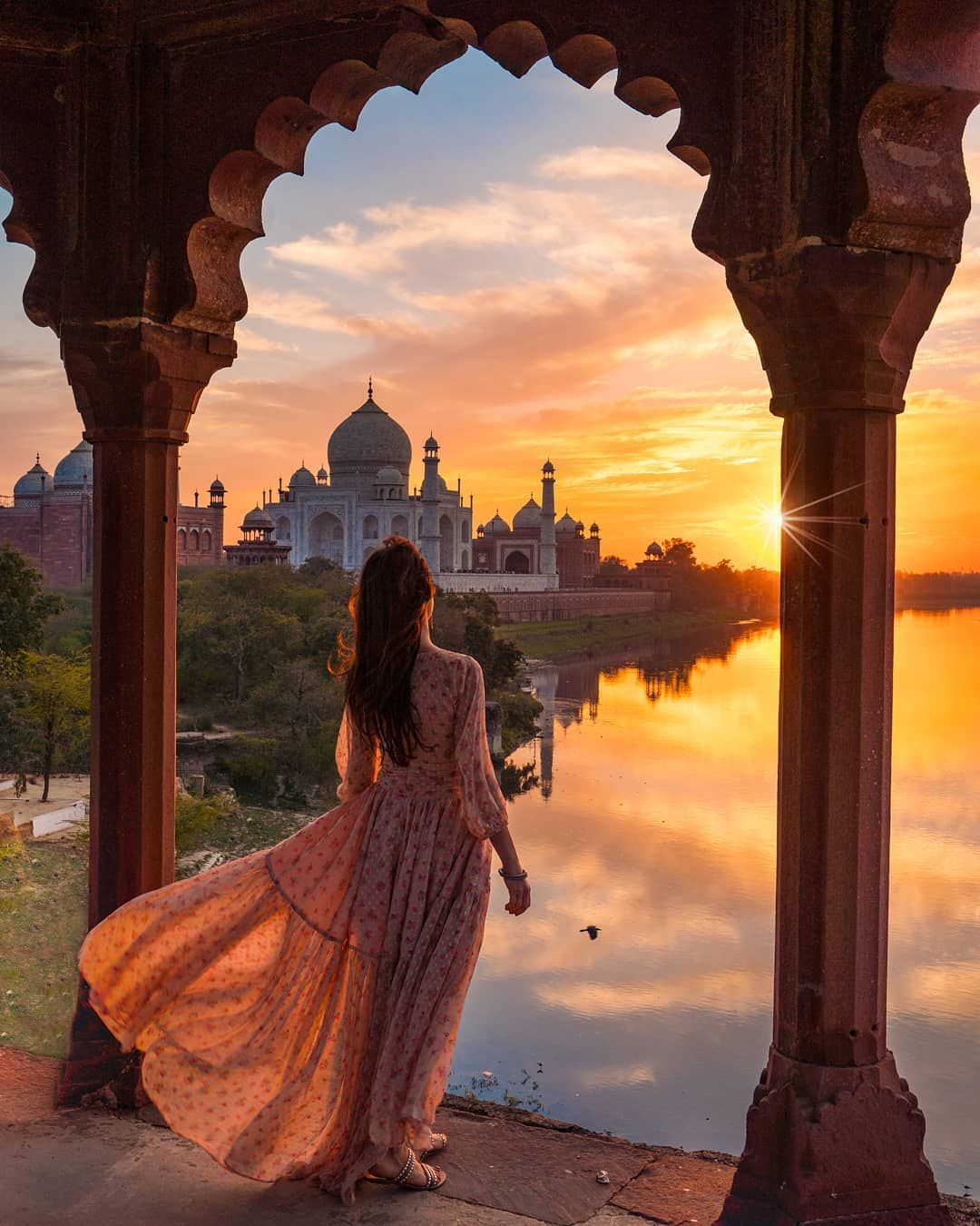 Do You Ever Just Crave Someone S Presence While Watching The Sunset Like You Would Literally Be Happy Just Si India Photography Travel Photography Travel Pose