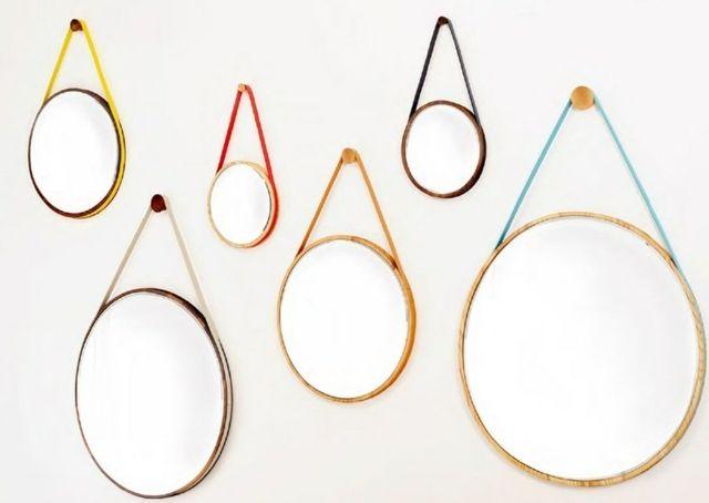 un miroir design magique pour votre maison petits miroirs miroir rond et miroirs
