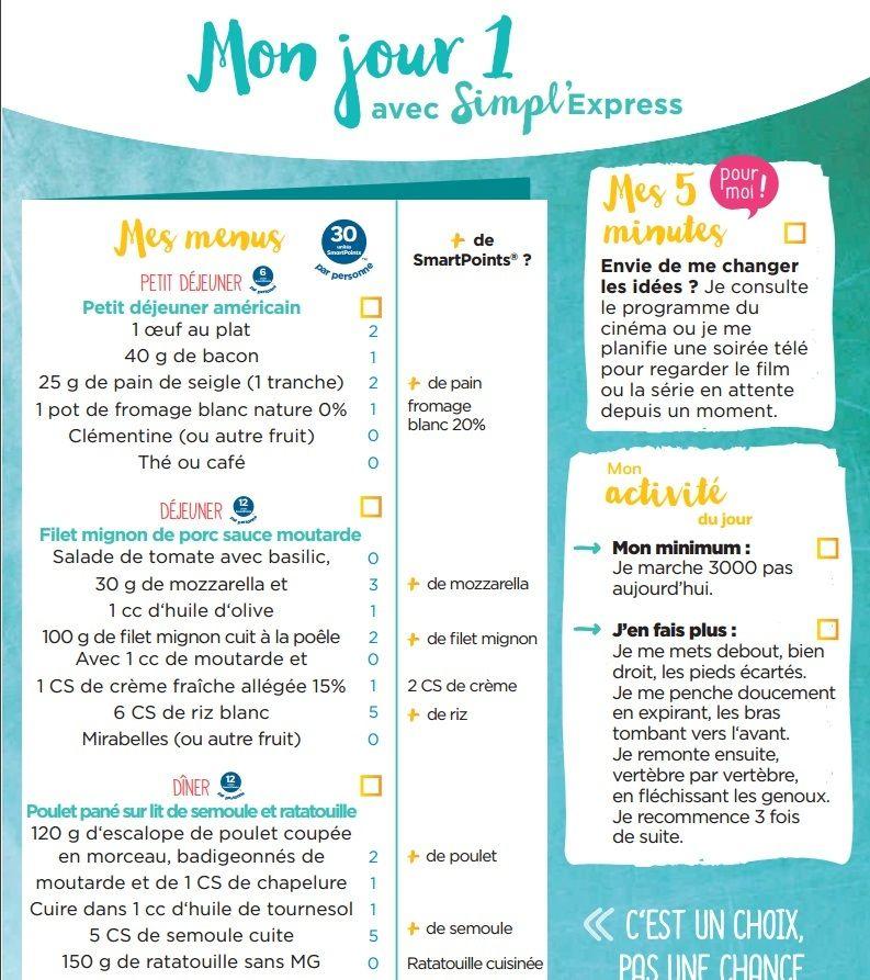 Célèbre 2ème semaine de menus simpl'express | Idées Menus | Pinterest  YY54