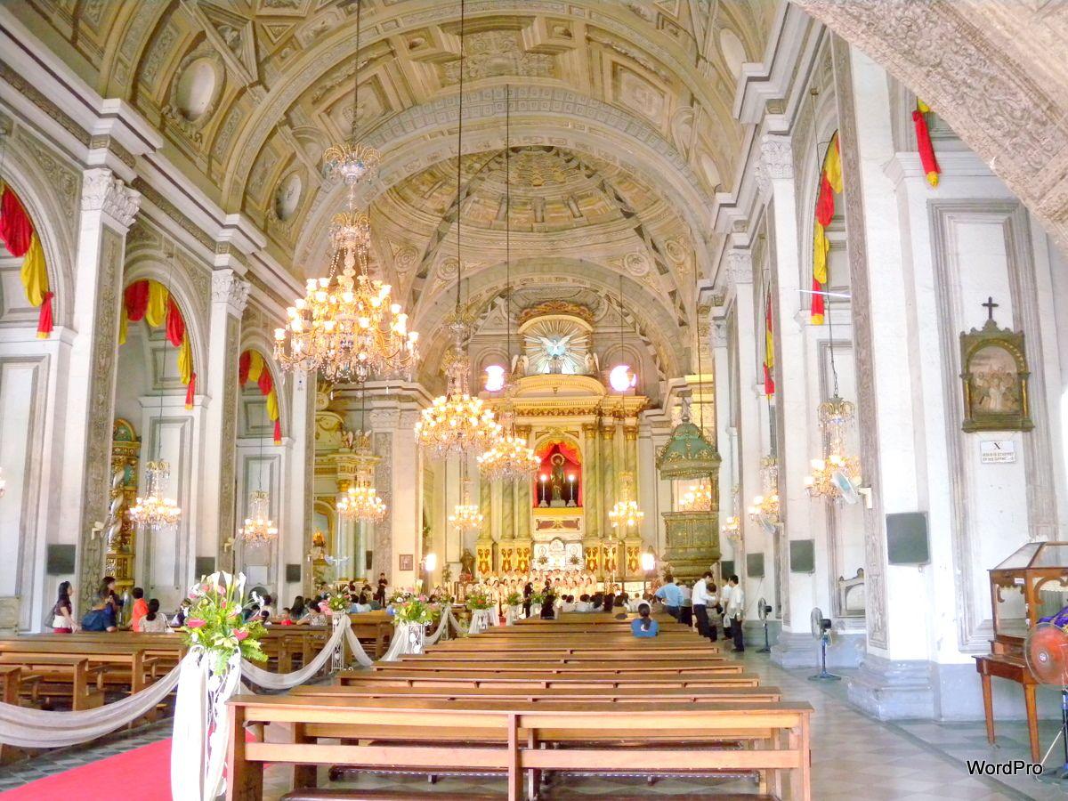 Interior of San Agustin