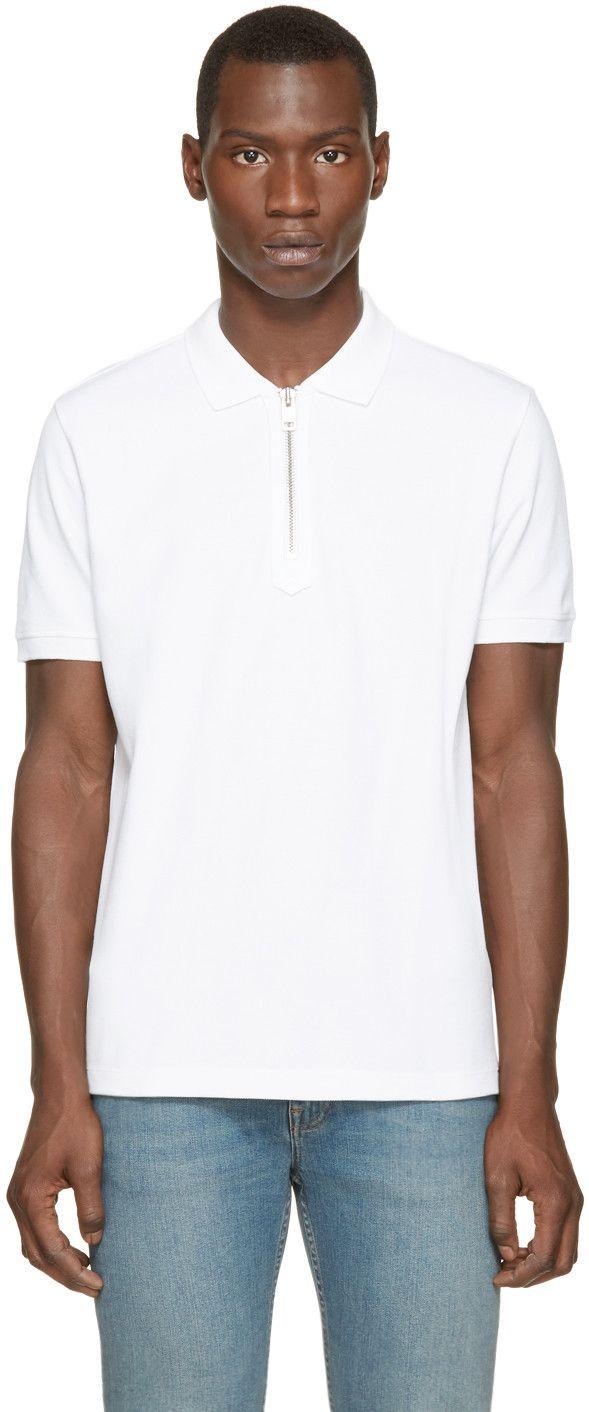 5e006a13 DIESEL White T-Konan Polo. #diesel #cloth #polo | Diesel Men