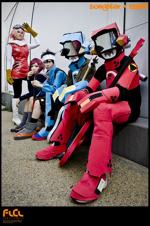 Flcl Cosplay Flcl Eyebrows Cosplay A Cosplay Group Cosplay