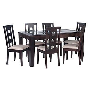Mica juego de comedor 6 sillas oleo juegos de comedor for Juego comedor diario