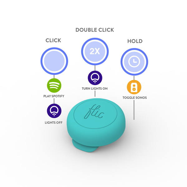 Save 25%  Flic is the Wireless Bluetooth Smart Button  Control