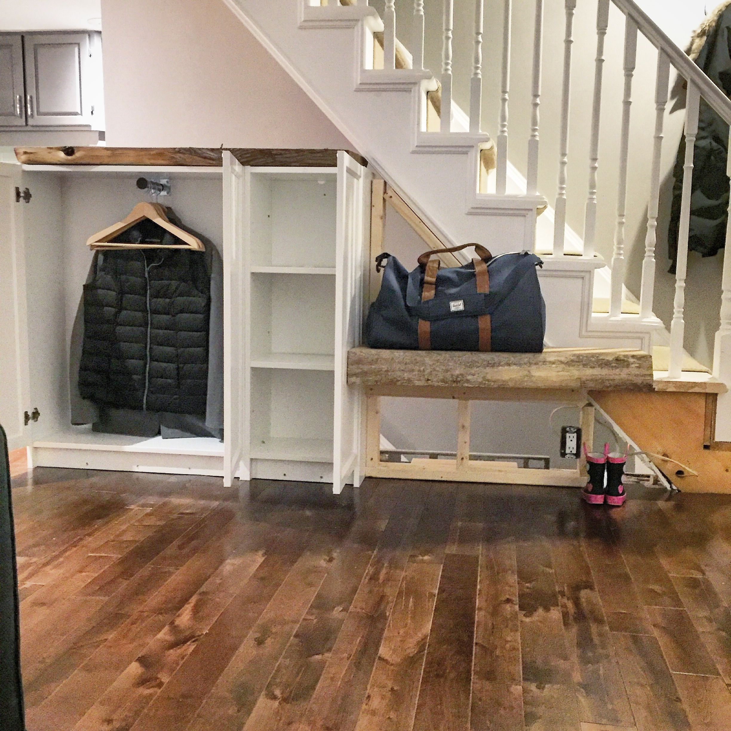 Best Billy Bookcase Ikea Hack Front Hall Closet With Live 400 x 300
