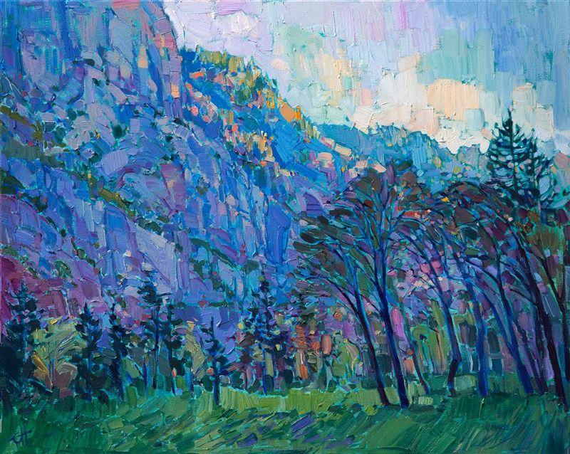Yosemite Landscape Painting In A Contemporary Impressionist Style Byerin Hanson Fine Art Prints Artists Landscape Paintings Art