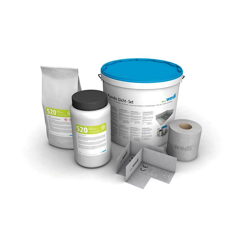 Wedi Fundo Sealing Set Tanking Waterproofing Kit Wetrooms With Images Wet Rooms Flexible Joint Seal