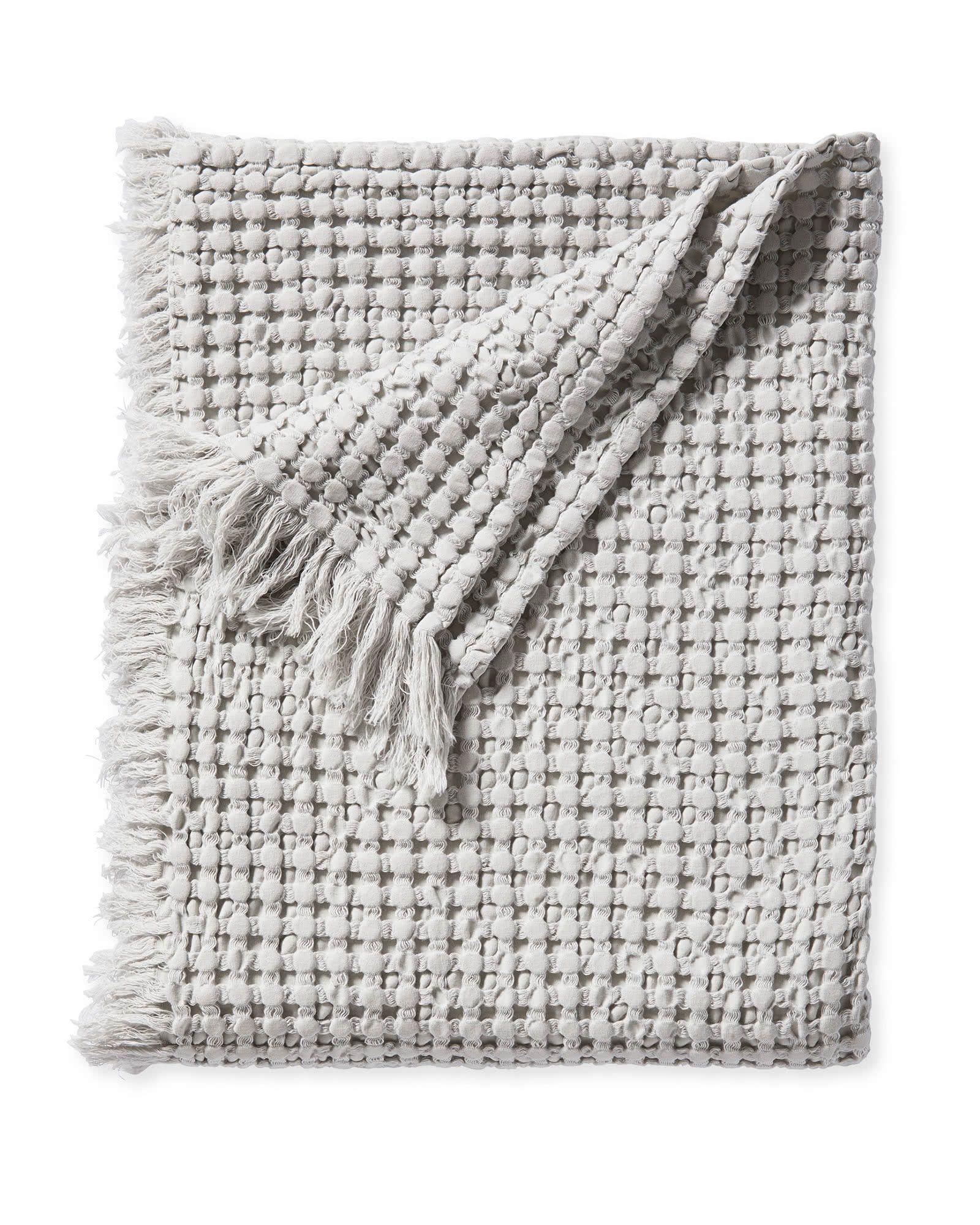 Serena Lily Beachcomber Cotton Throw Cotton Throws Luxury Throws Bed Throws