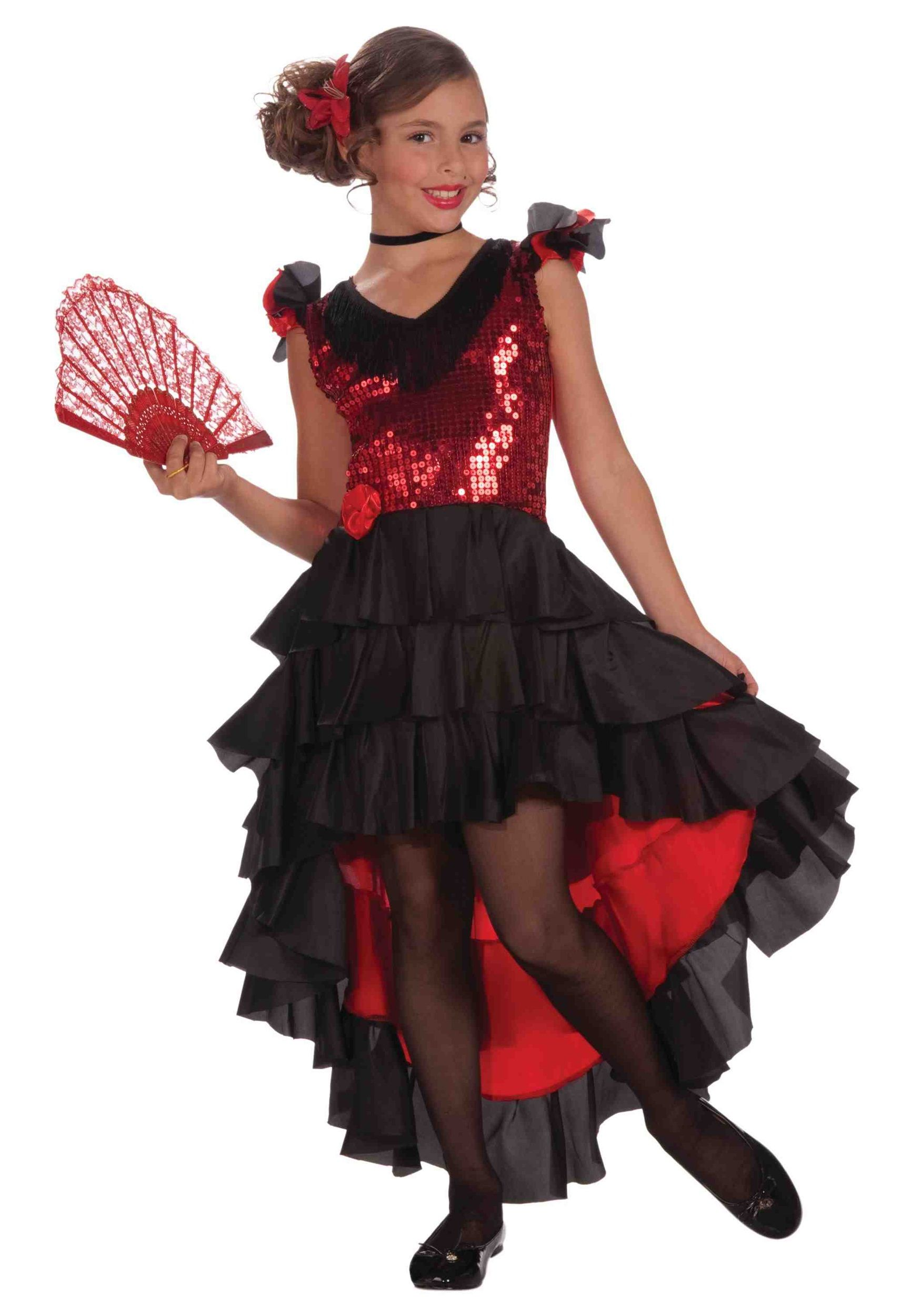 4bce0092679b Child Spanish Dancer Costume