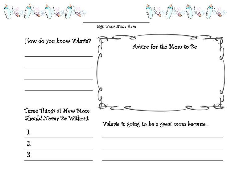 picture regarding Printable Guest Book named Absolutely free+Printable+Little one+Shower+Visitor+Reserve+Internet pages Youngster Shower