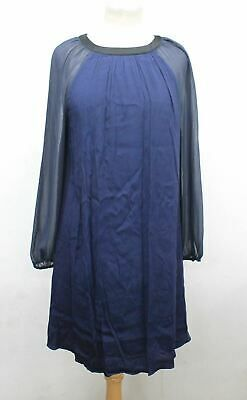 BODEN Ladies Navy Black Long Sleeve Knee Length Dress Size UK14R EU42R US10R #fashion #clothing #shoes #accessories #women #womensclothing (ebay link)
