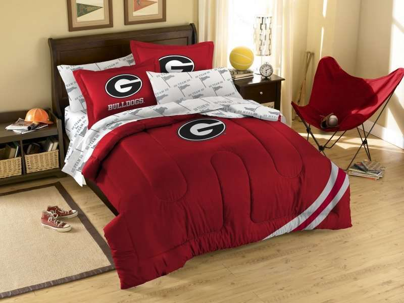 Bedroom Sets Georgia the northwest georgia bulldogs ncaa comforter set $90.90 from