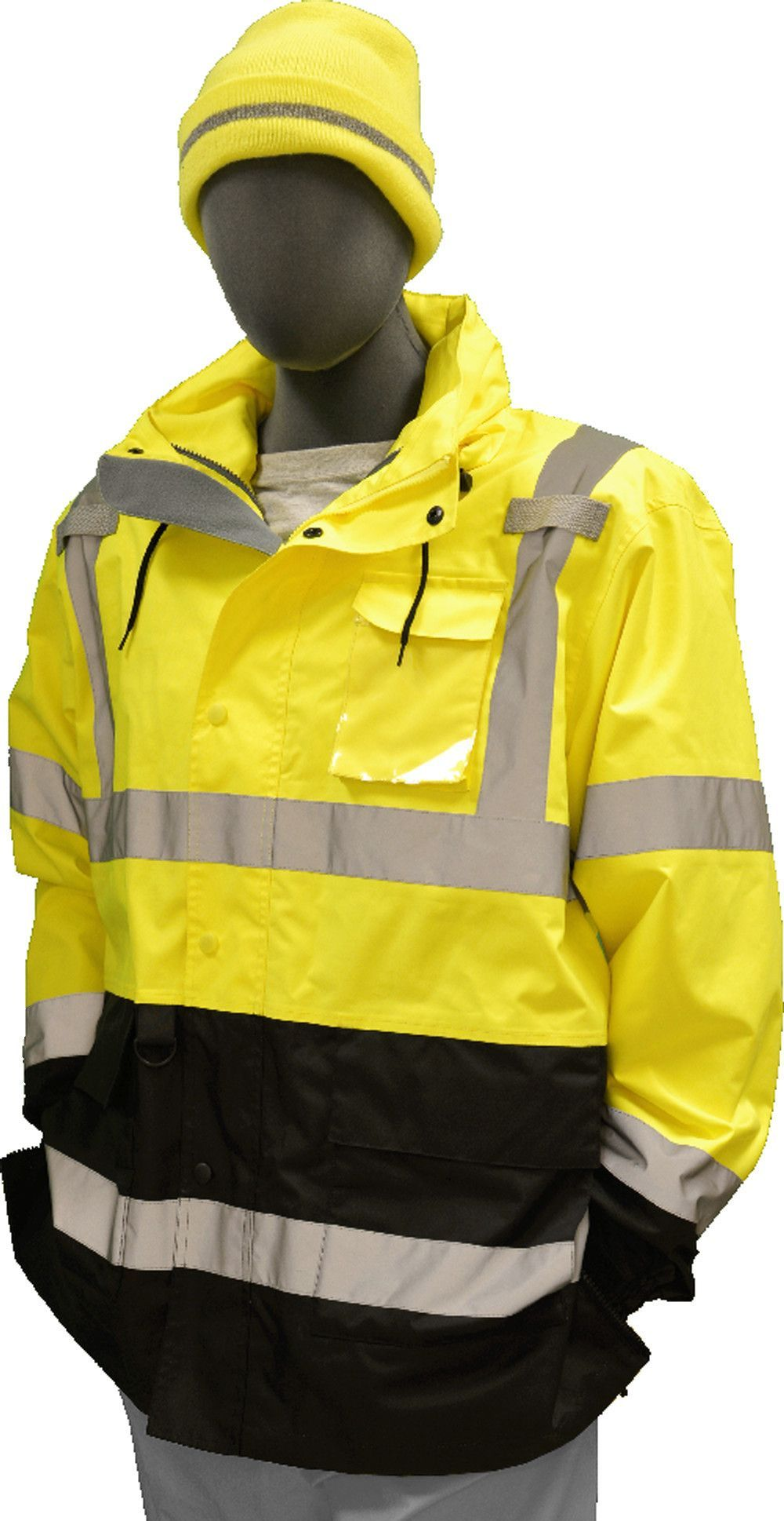 Safety Jacket Majestic 751307 CL3 Hi Vis Yellow Parka