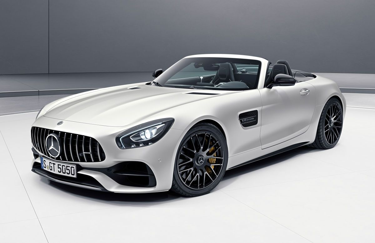 Mercedes Amg Releases An Edition 50 Version Of The Gt C Roadster