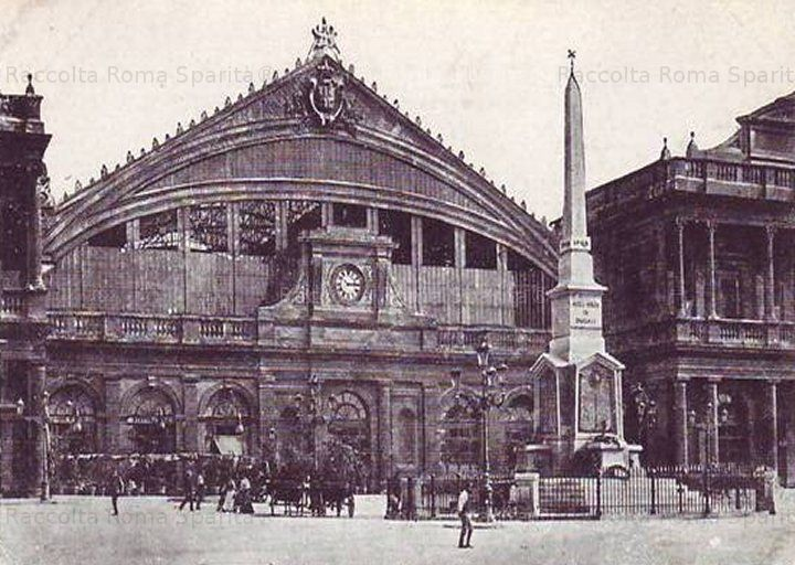 Foto storiche di roma la vecchia stazione termini in for Centro uffici roma
