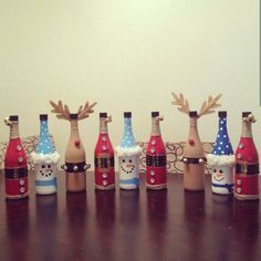 Decorate A Bottle Decorate Wine Bottles For Coworkers As Gifts  Bazaar  Pinterest