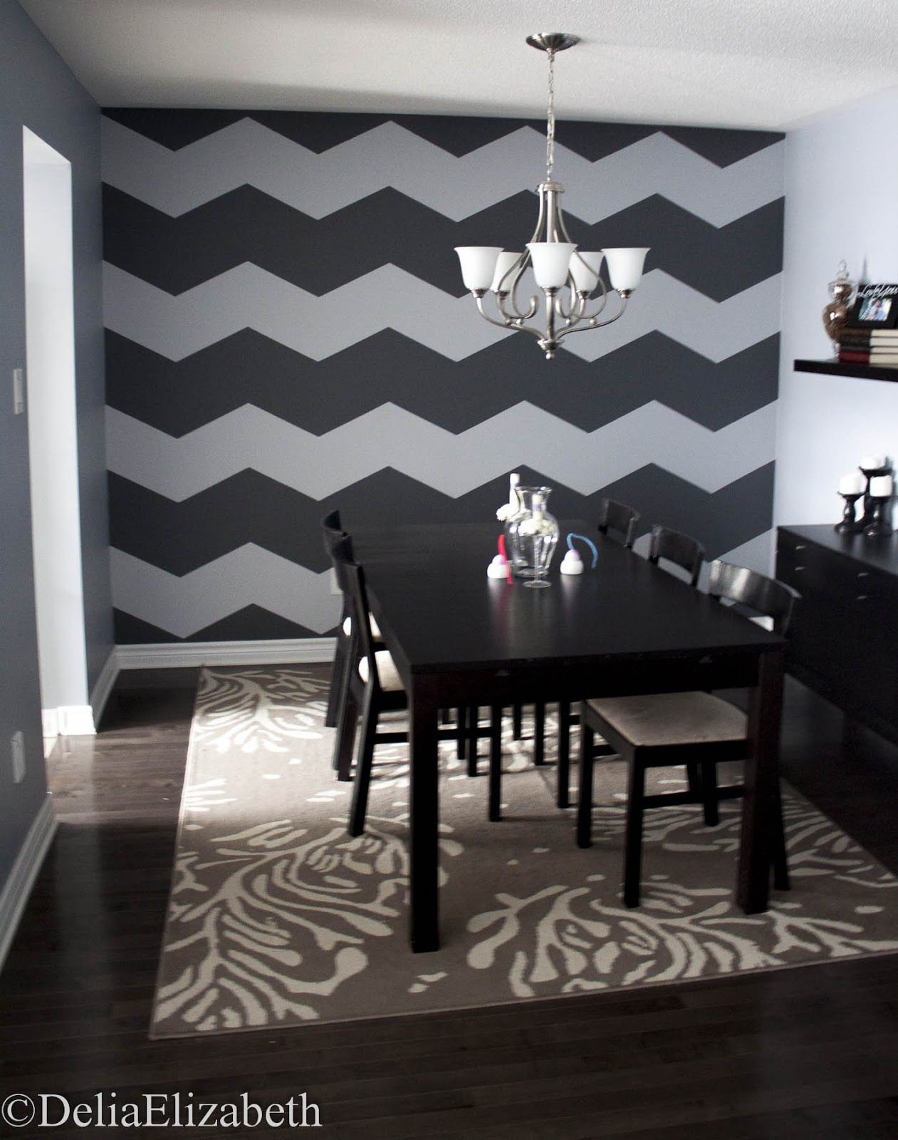 I want this chevron wall in my office maybe a lighter neutral and