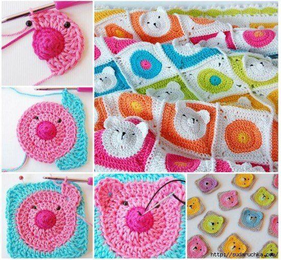 Alfombra para niños. Ganchillo. foto # 1   alfombras   Pinterest ...