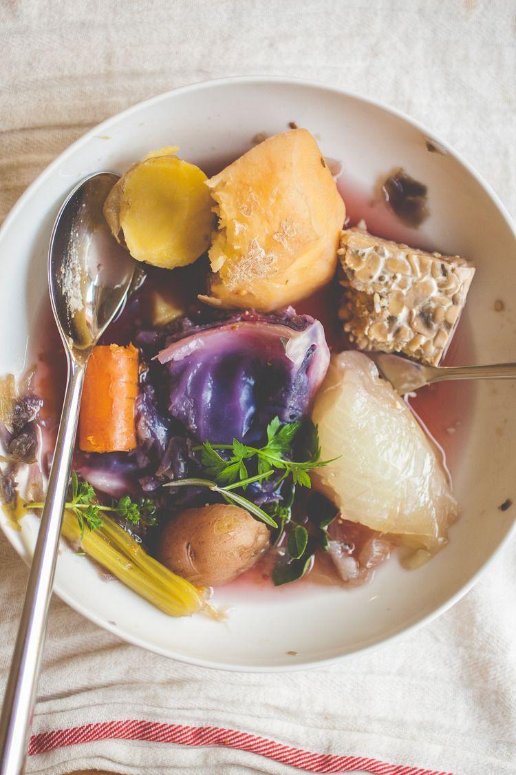 Vegan Pot Au Feu Recipe Vegan Cooking Food Vegan Vegetarian